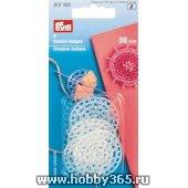 Декоративные пуговицы для отделки пряжей, бисером, арт. 312103